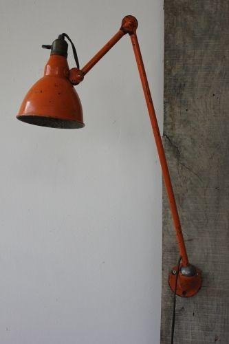 Ancienne Lampe Applique Industrielle Mazda Dans Sont Jus Task