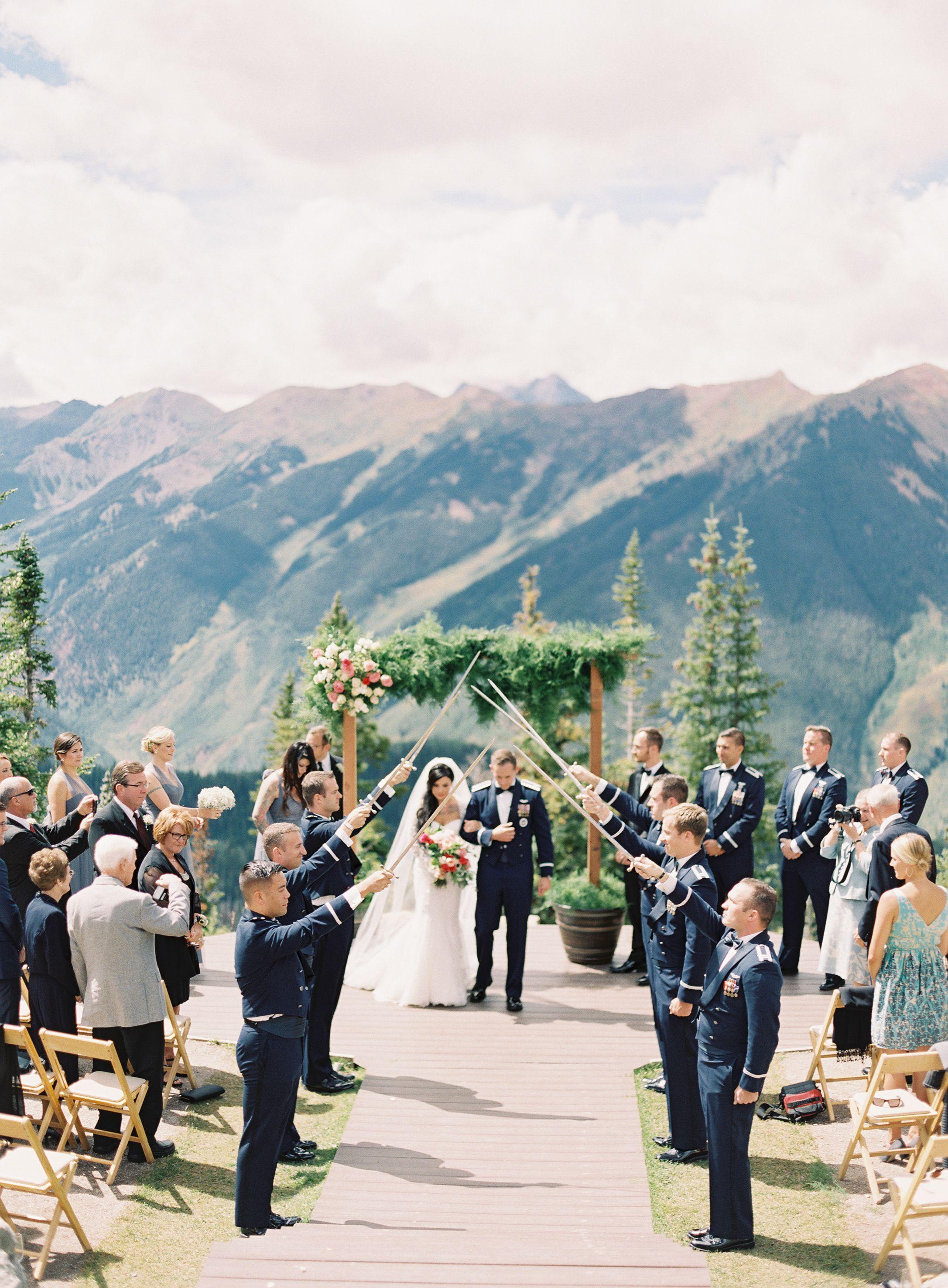 Andy & Paul's Destination Aspen Wedding Aspen colorado
