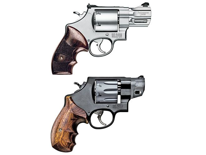 The Smith & Wesson Model 627 and Model 327 bring .357 Magnum heat in ...