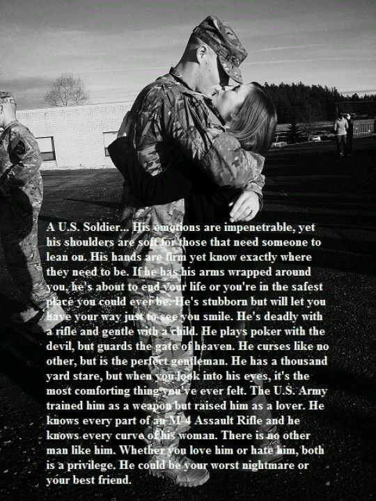 Soldier   Military relationships, Army girlfriend, Military ...