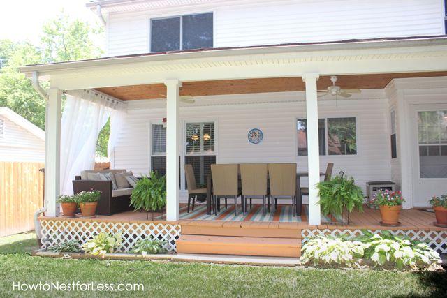 Captivating Get Information Home Design Patio Back Porch Patio Ideas Back Covered Patio  Makeover, You Can See Patio Back Porch Patio Ideas Back Covered Patio  Makeover ...