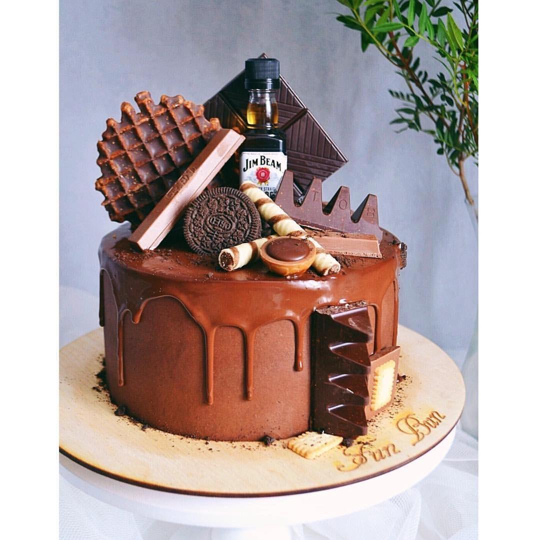 Фото мужского торта креативные