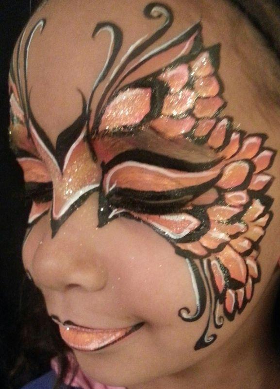 40 id es de maquillage papillon pour enfants et adultes a vos pinceaux butterfly pinterest. Black Bedroom Furniture Sets. Home Design Ideas