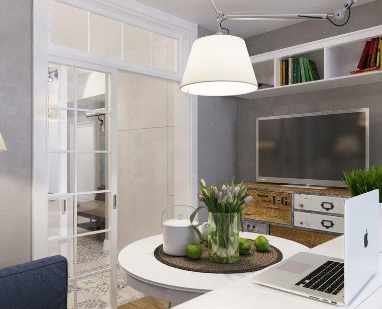 Apartamentos pequeños ideas de diseños funcionales Apartamentos