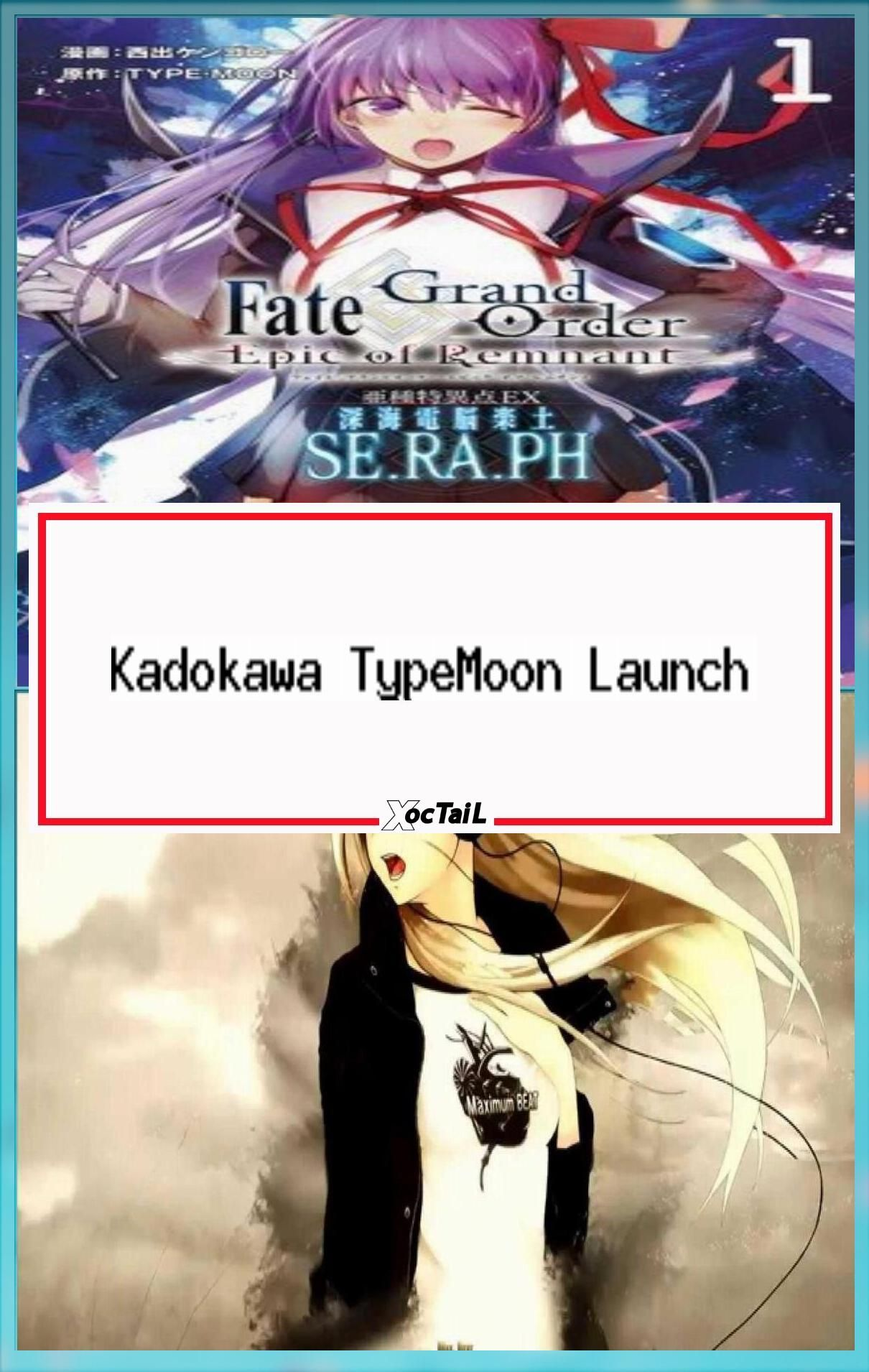 Kadokawa TypeMoon Launch TypeMoon Comic Ace Manga Website