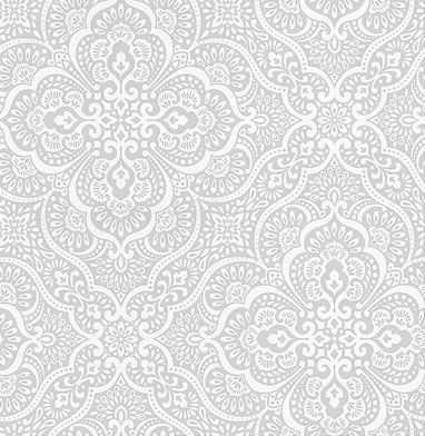 Imara Porcelain by Prestigious Blue / White Wallpaper