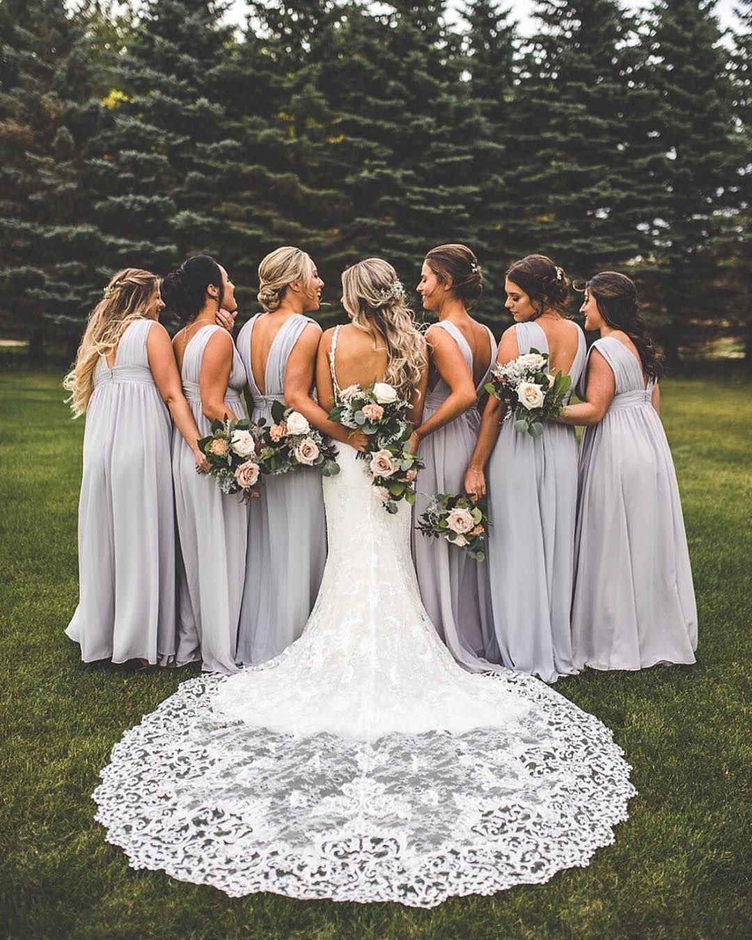 Bridesmaids wedding photo ideas fall bridesmaid dresses
