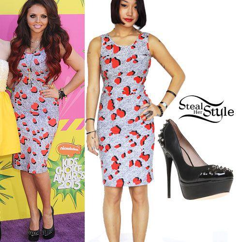 Jesy Nelson: Kids Choice Awards Outfit