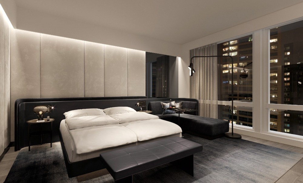 Equinox Hotel New York City Reservations Room Availability Hotels Room Luxury Accommodation Bedroom Design