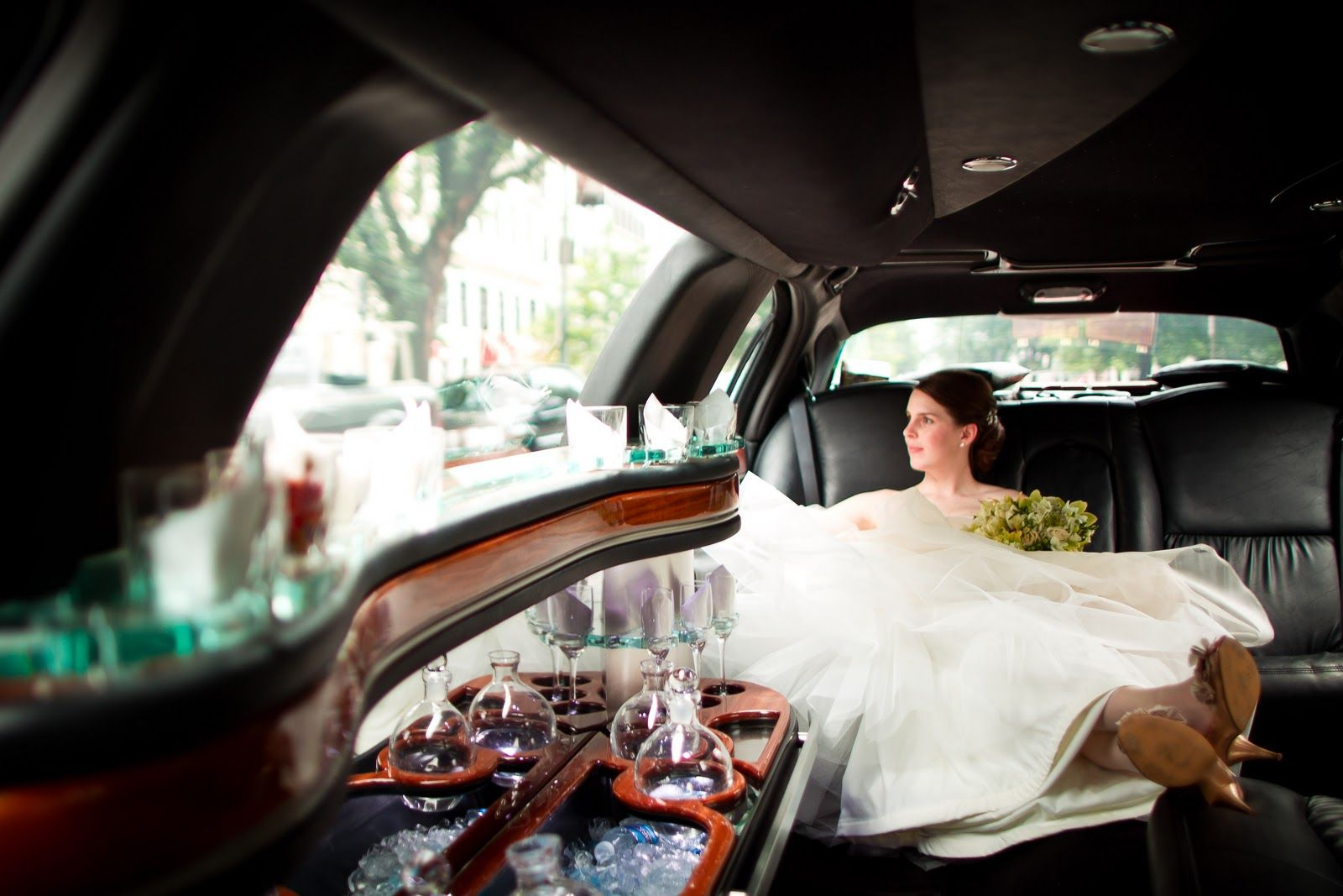 Image result for WEDDING limousine