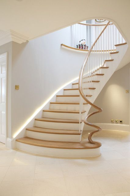 Best 18 Dazzling Transitional Staircase Designs Youre Going To 400 x 300