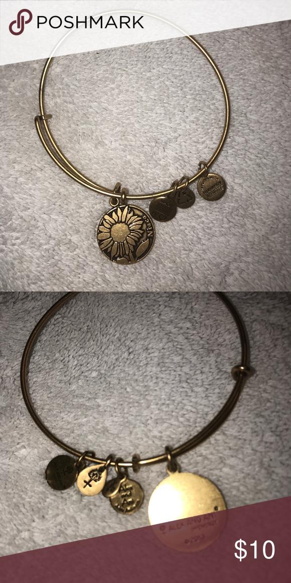 Alex Ani Sunflower Niece Bracelet And Jewelry Bracelets