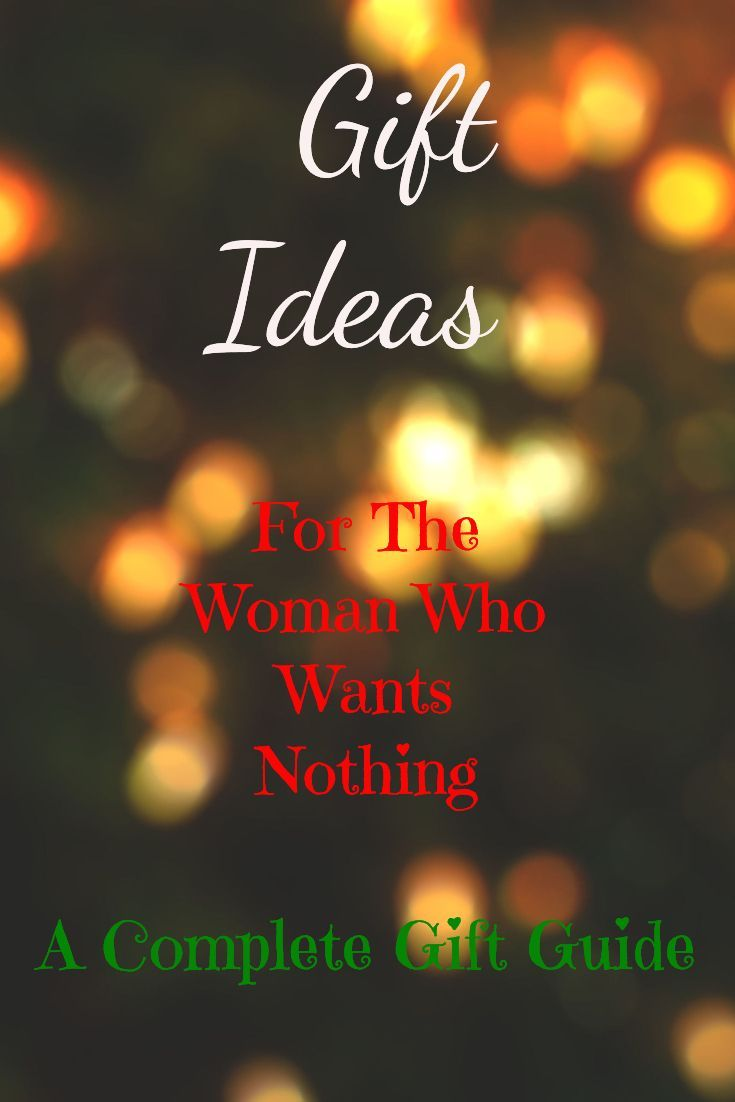 Gifts For The Woman Who Wants Nothing At All | Christmas gift inspiration, Christmas gifts for ...