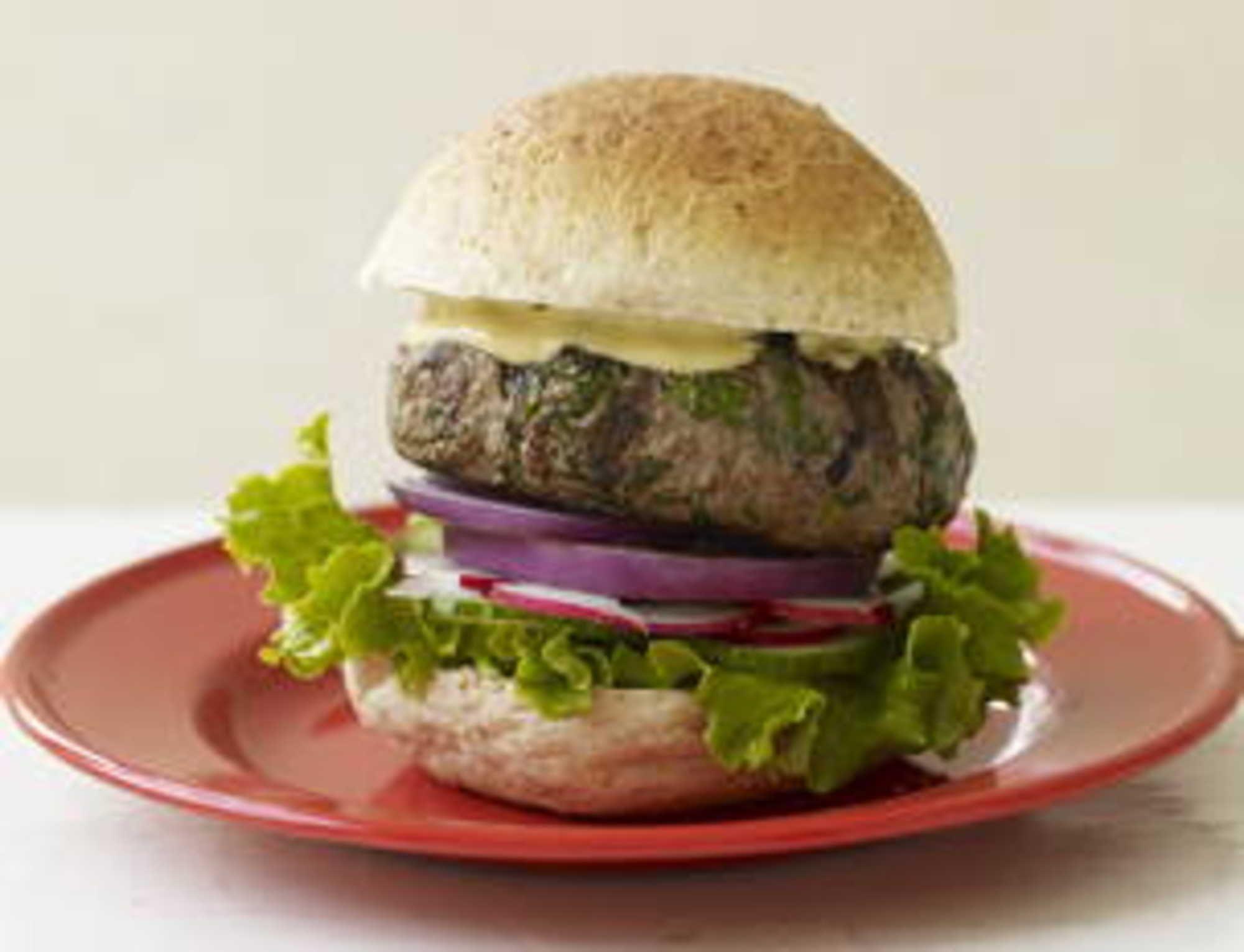 Audacious, Herbaceous Beef Burgers.