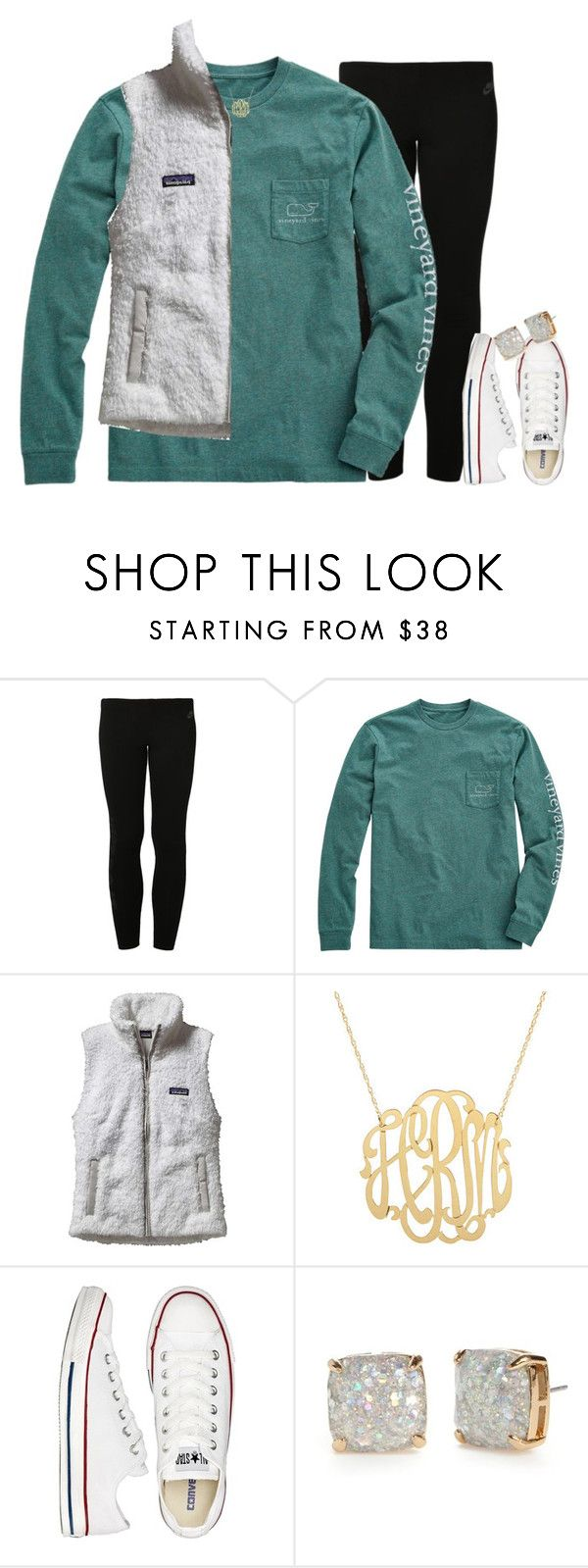 """""""1,000 FOLLOWERS!!!⭐️"""" by econgdon ❤ liked on Polyvore featuring NIKE, Vineyard Vines, Patagonia, Converse and Kate Spade"""