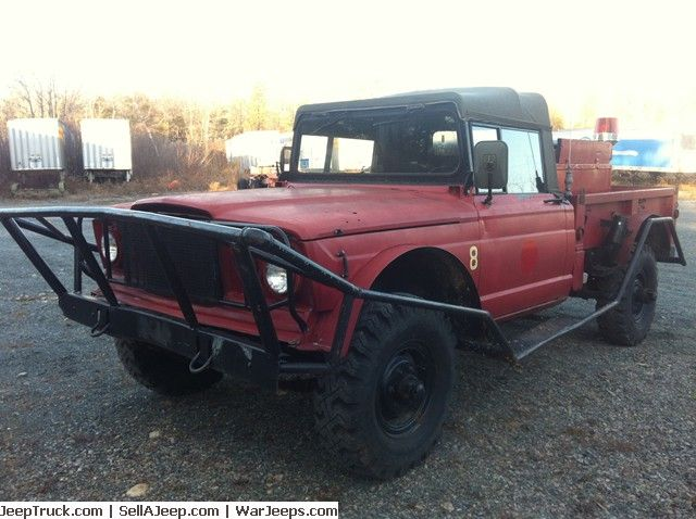 1968 Jeep M 715 Fire Brush Truck For Sale At Jeeptruck Com Brush Truck Trucks Jeep Parts For Sale