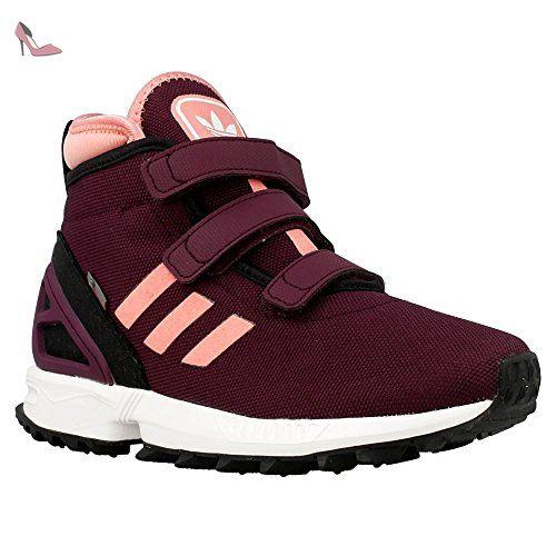 Adidas - ZX Flux Winter - B24751 - Couleur: Bordeaux - Pointure: 34.0 -