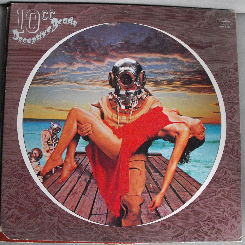 10cc Deceptive Bends Vintage Record Album Vinyl Lp English Etsy Cool Album Covers Album Covers Classic Album Covers