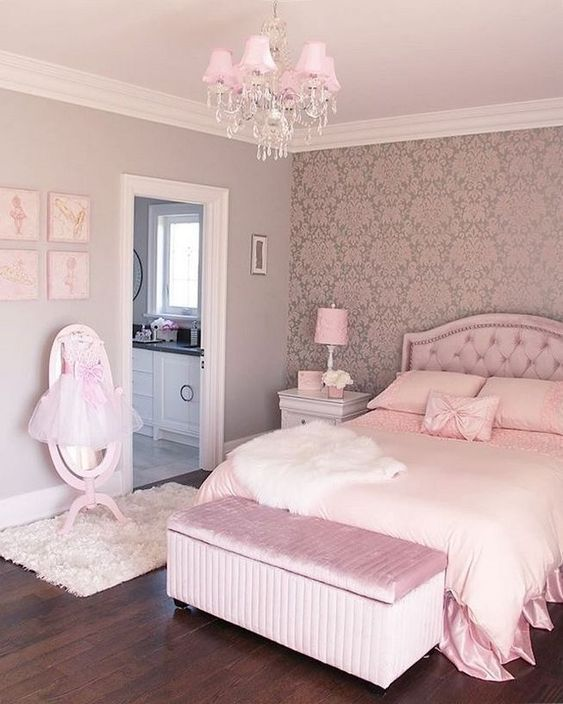 pink bedroom ideas teenager bedroom design girly bedroom on cute bedroom decor ideas for teen romantic bedroom decorating with light and color id=65231