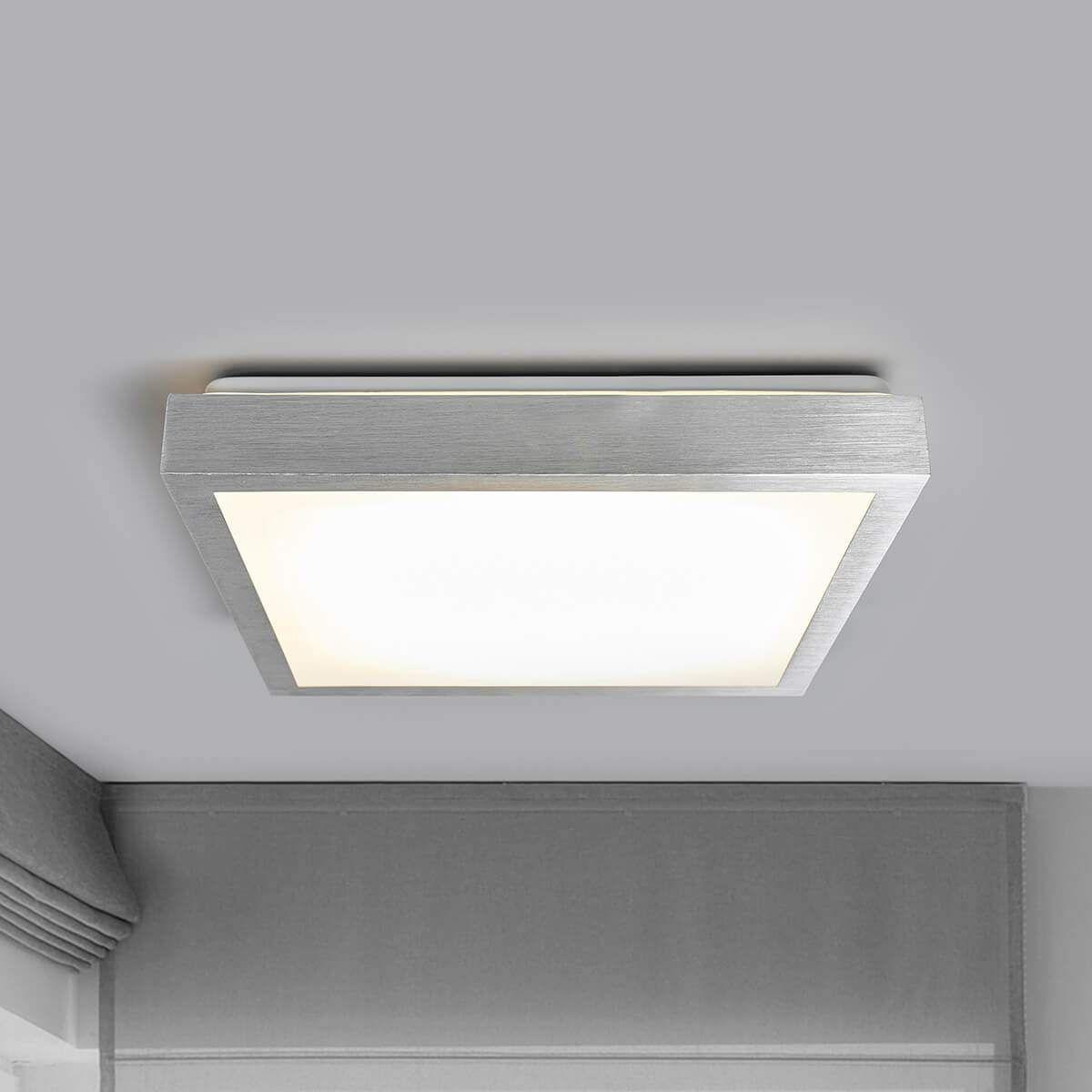 LED Deckenlampe Deckenleuchte Eckig Easydim Dimmbar über Wandschalter Flur