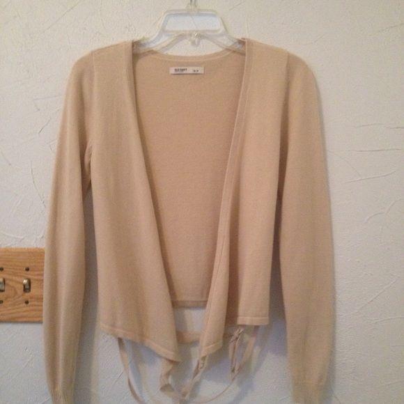 Tan cardigan sweater | Tan cardigan, Navy sweaters and Smoke free