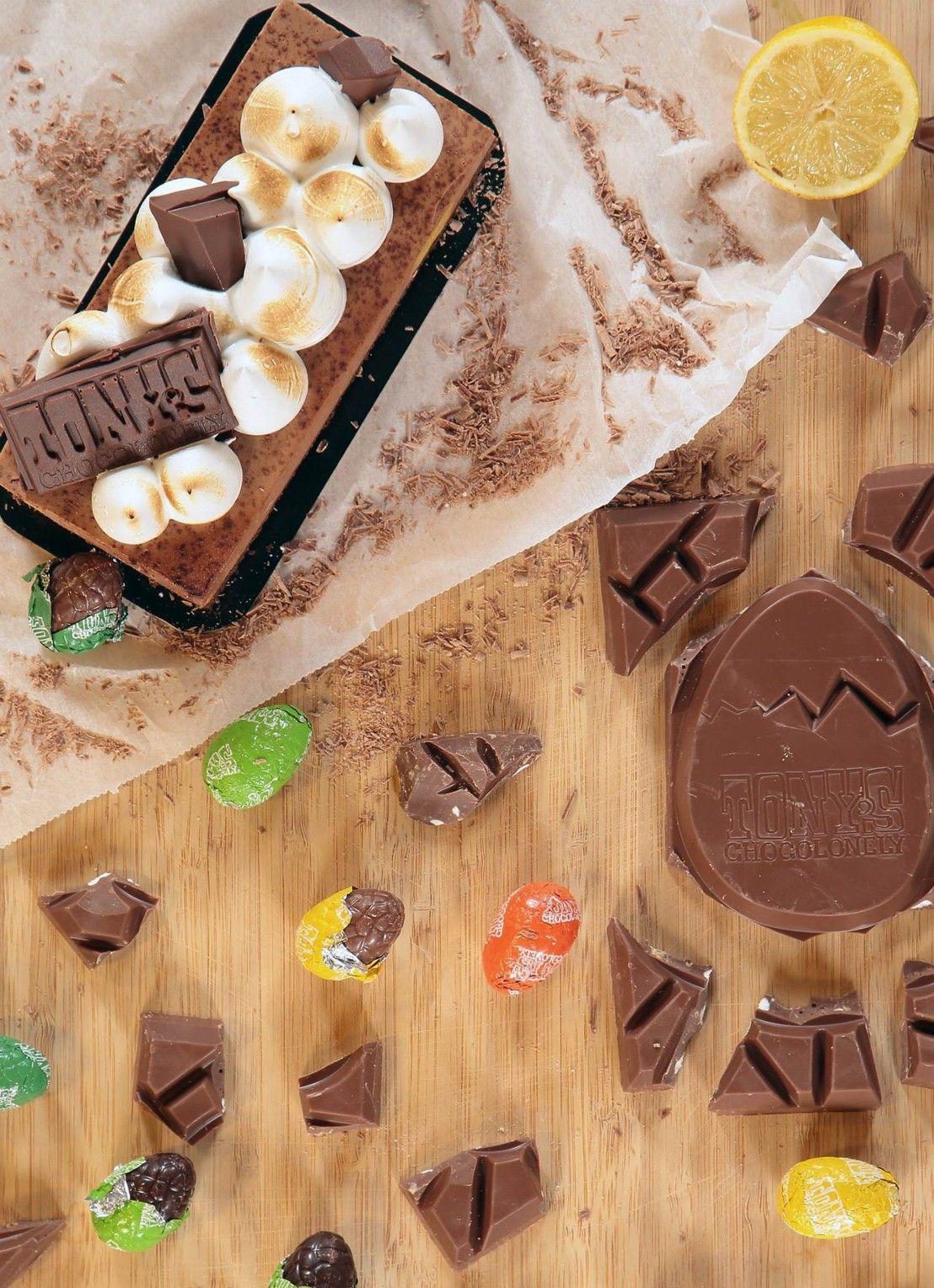 de Bijenkorf Tony's Chocolonely Meringue Citroen taart • de Bijenkorf