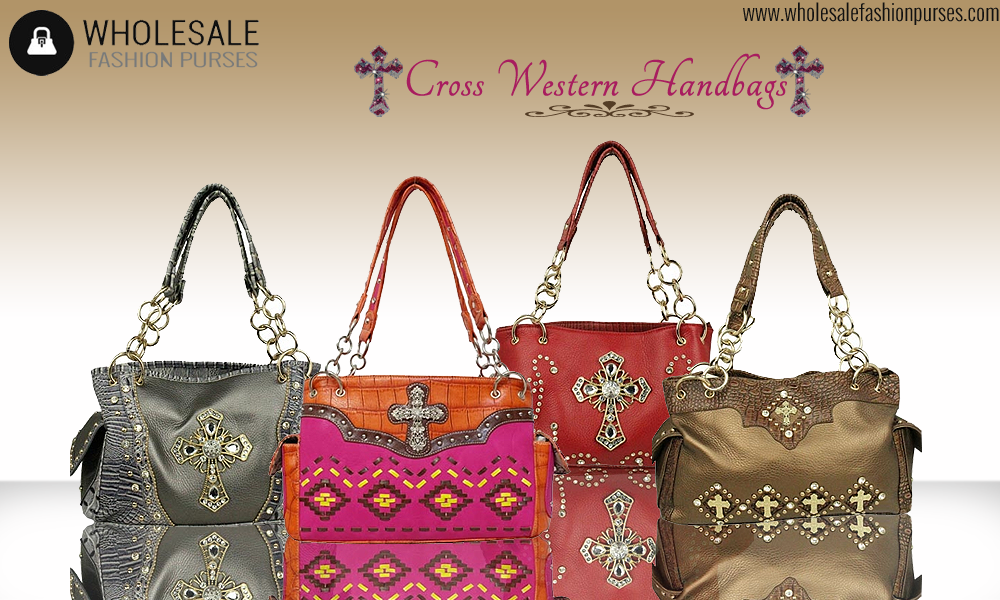 Click here http://goo.gl/qoad4u and shop from our elegant collection of #cross #western #purses and #handbags at wholesale price.
