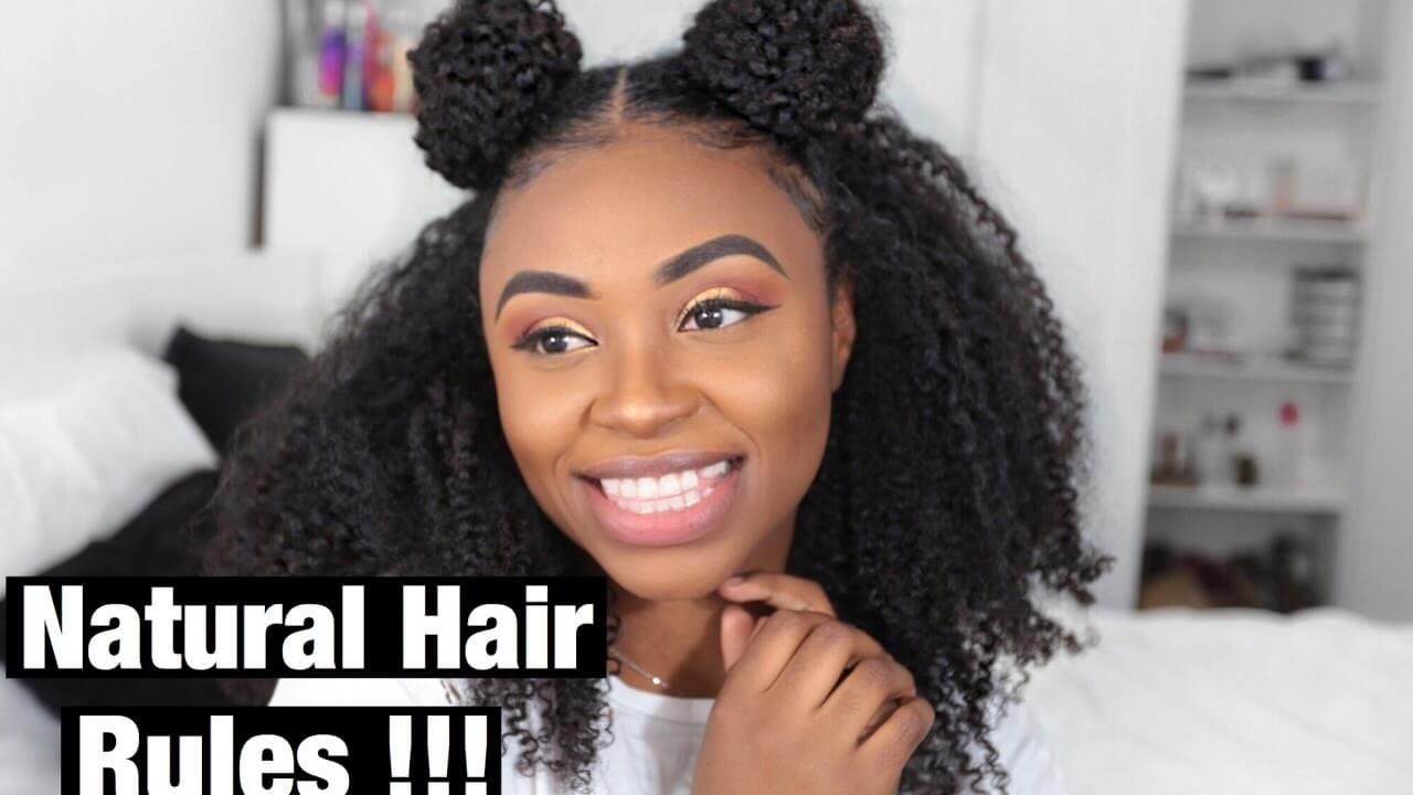 Two Puffs Space Buns Heatless Hair Series Ep 2 Hair Puff Natural Hair Styles Natural Hair Puff