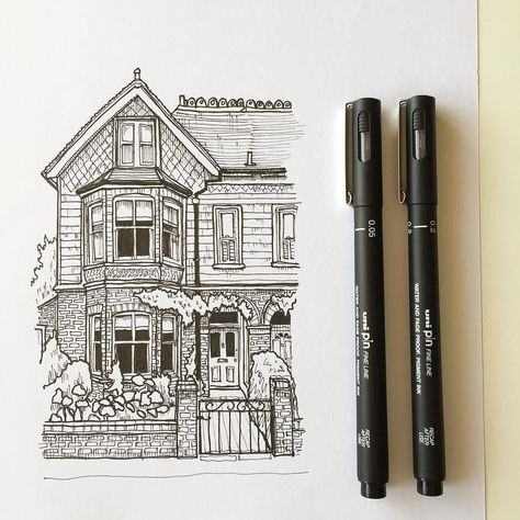 architecture house drawing. Simple Drawing Art Drawing Pen Sketch Illustration Linedrawing Architecture House  Westdesignproducts Intended Architecture House Drawing R