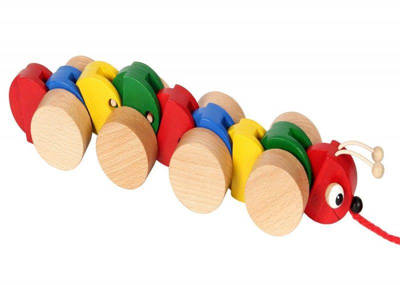 Spielzeug Schiebefigur Watscheltier Clown Pepe von HOBEA-Germany
