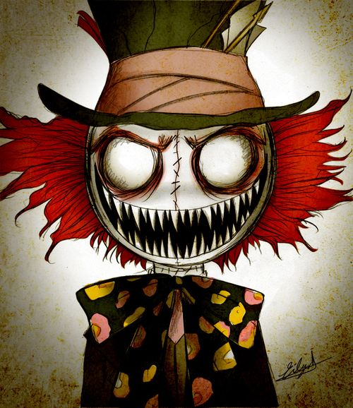 Image Result For Alice In Wonderland Drawing Creepy Eathan Alice