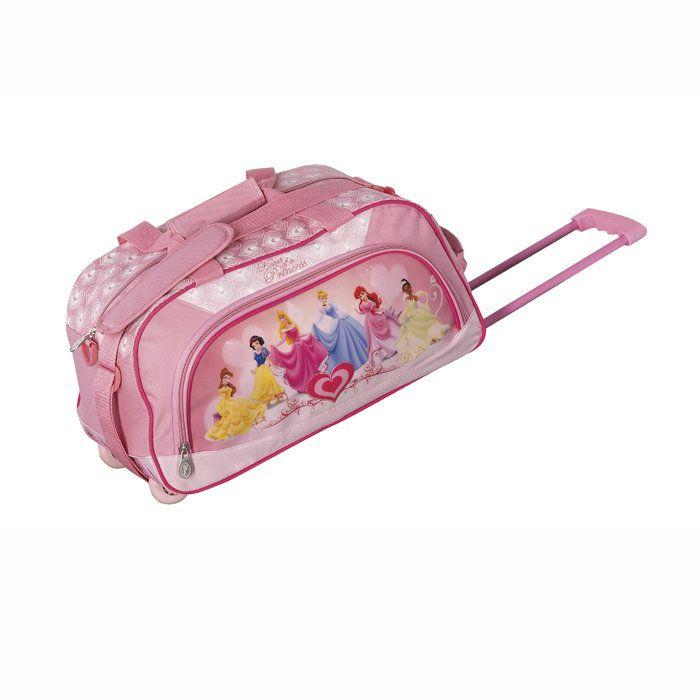 1a6b5f538bcd Heys Luggage Disney Princess 18 Inch Wheeled Duffle Bag