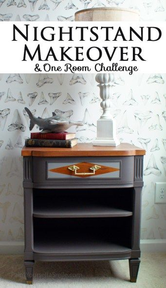 Furniture Makeover And Challenge Week 3   Paint Yourself A Smile