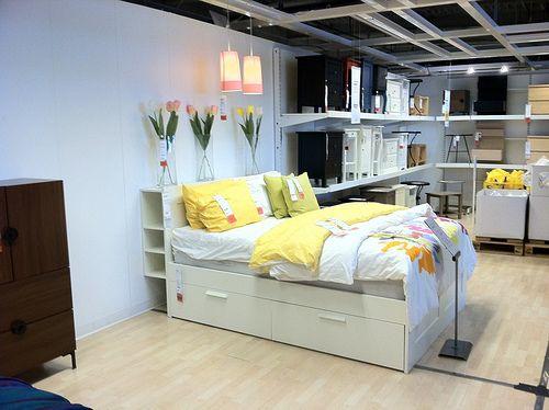 Ikea Brimnes Bed A Photo On Flickriver Brimnes Bed Home