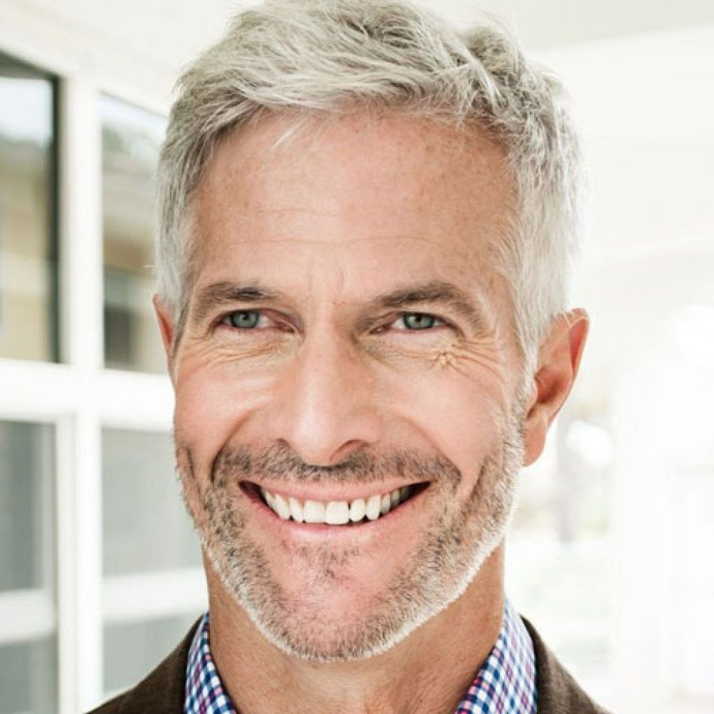 15 hairstyles for older men to look younger | haircuts for