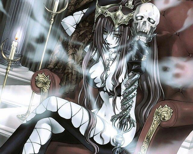 Anime Dark Queen