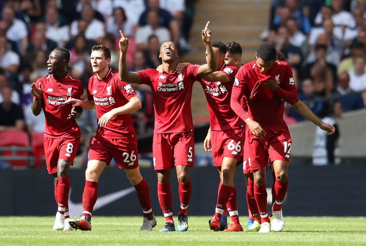 English football league, Liverpool, Tottenham