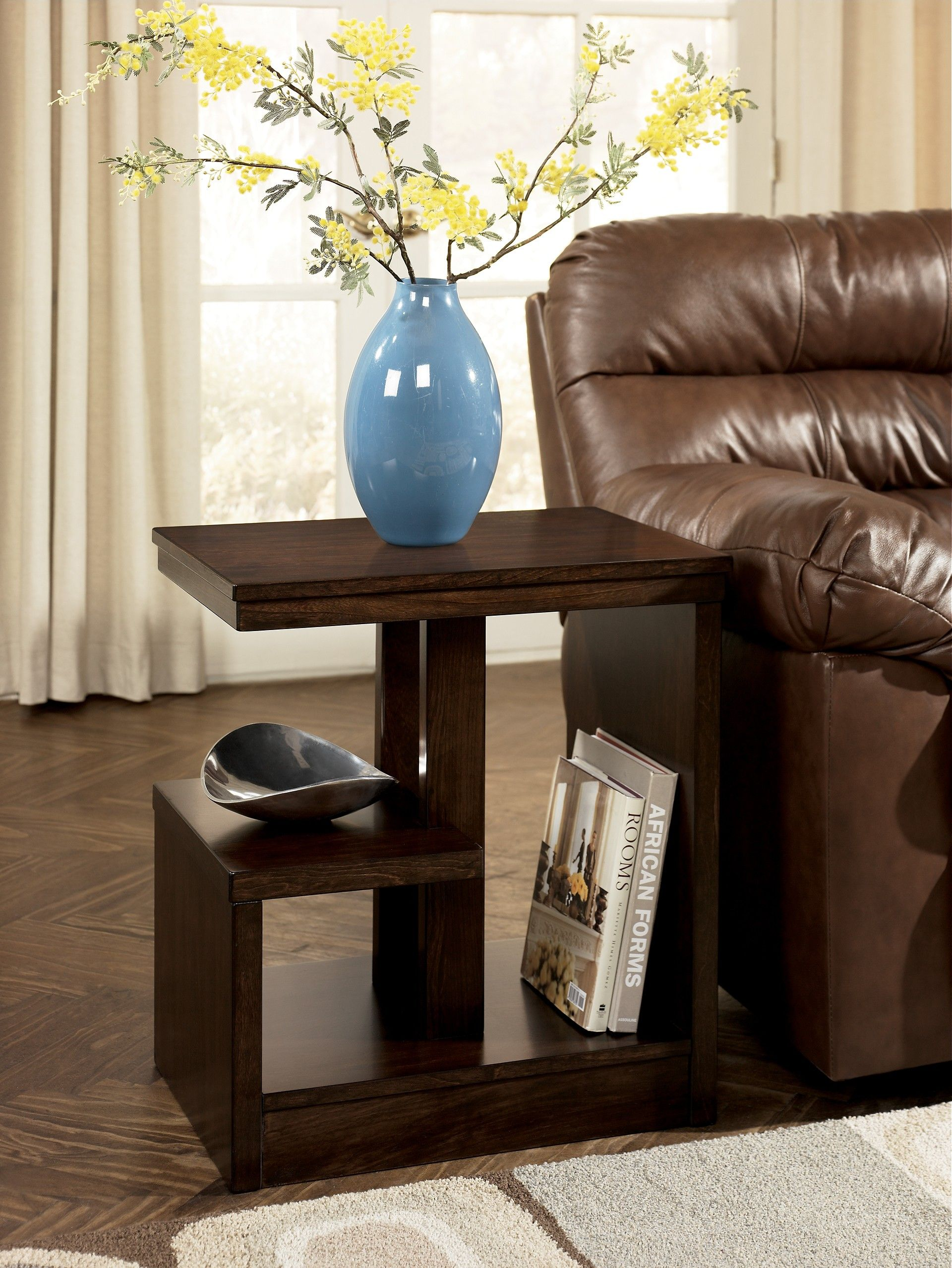 Ashley Callum T670 7 Signature Design Chair Side End Table Contemporary Side Tables Living Room Table Living Room Side Table