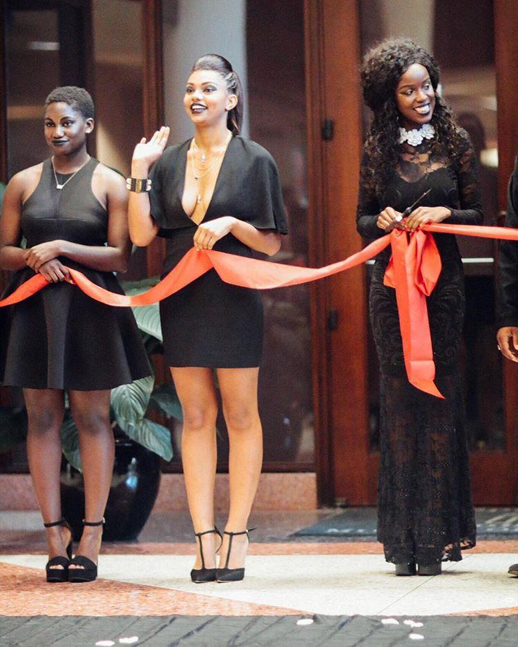 "blackfashion: "" The Grand Opening of Spelman College's fashion & arts organization, Echelon Twelve Instagram || @echelontwelve """