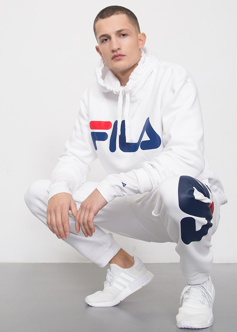 Slav squatting in FILA | Fila outfit, Fashion joggers, Fila