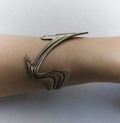 Computational Jewelry - Fashioning Technology Laser cut paper