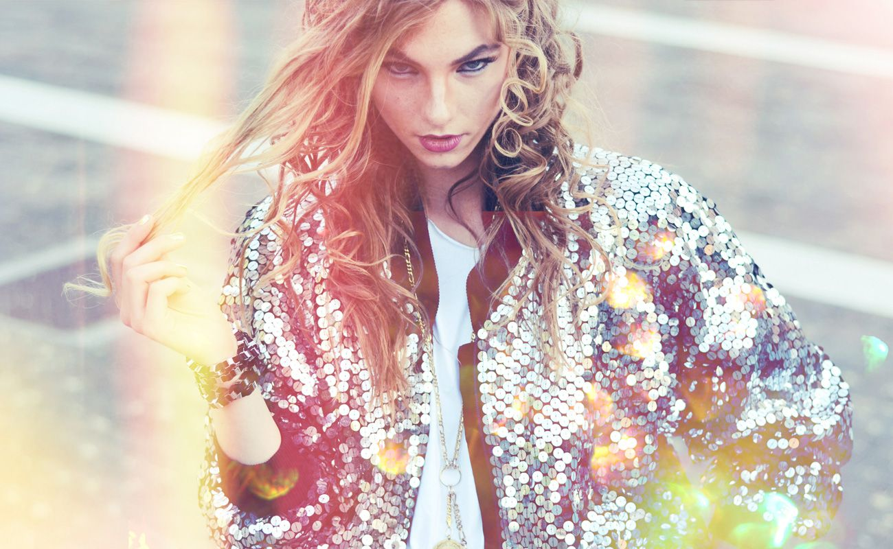 Gold Dust, fashion editorial by Patricia Imbarus