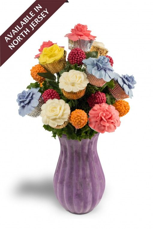 Beautiful and Delicious! The perfect Birthday bouquet! Introducing Heavenly Hues!