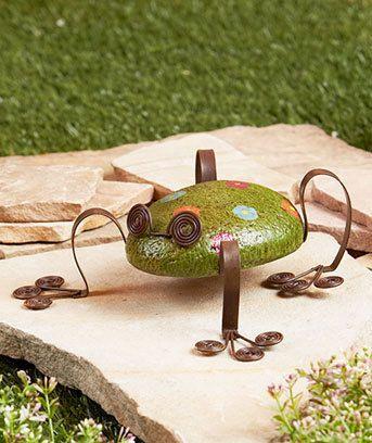 cute - Frog Rock Garden Friend