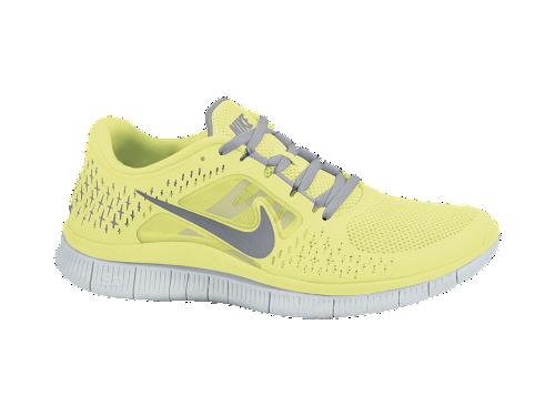 Nike Free Run+ 3 Women's Running ShoeYellow:) nice