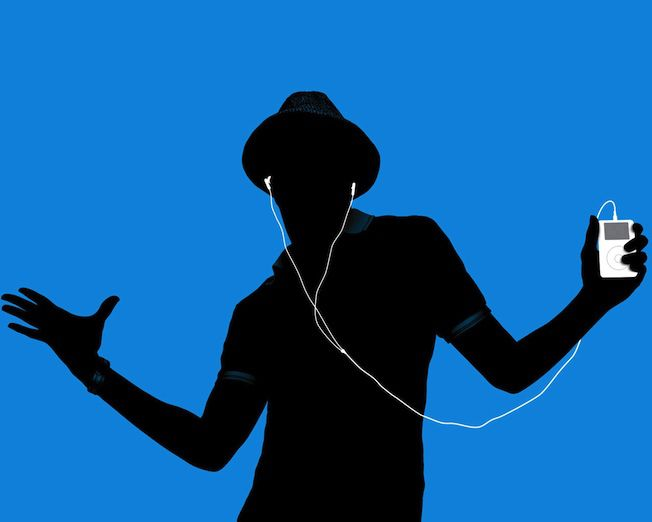 Image result for man listening to ipod