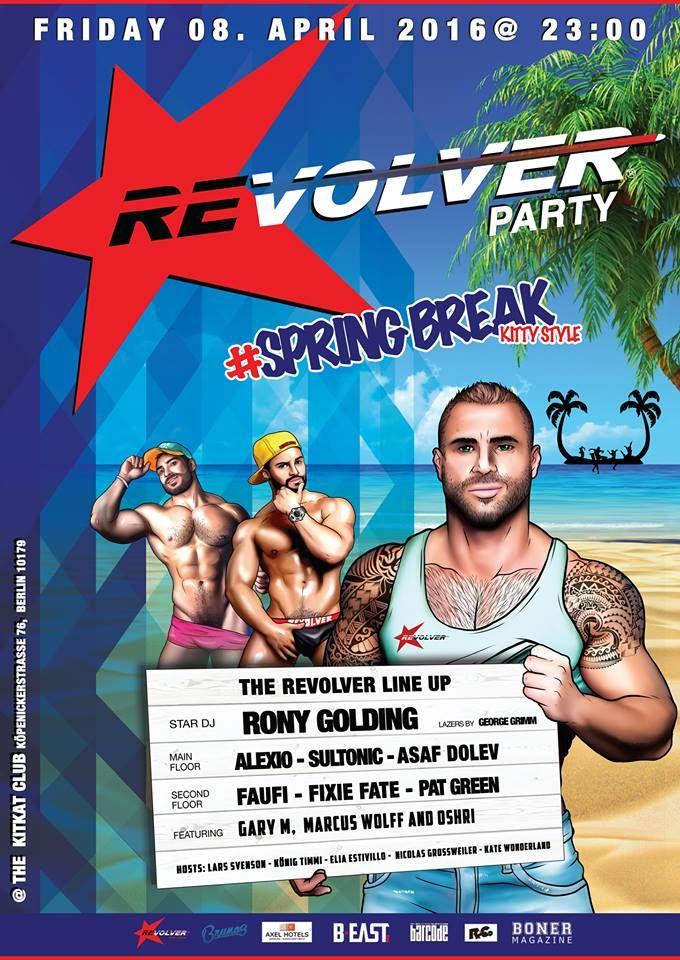 Revolver Party Berlin  E2 98  Pmkopenicker Str 76 10179 Berlin Germany Berlin Gay Events Bear Rikers Berlin
