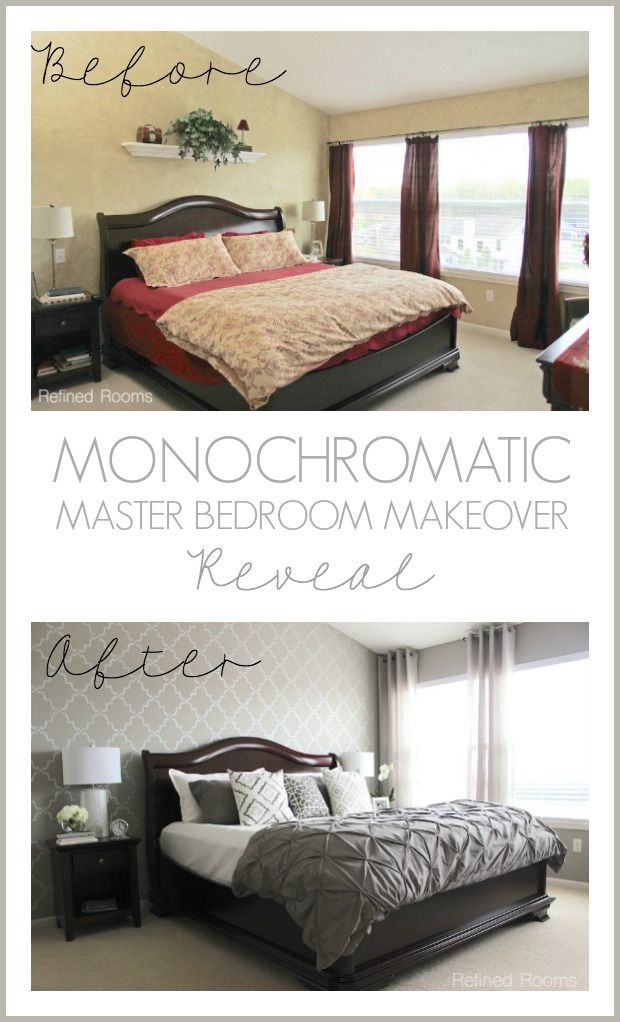 Best Our Bedroom Makeover Reveal Monochromatic And Marvelous 640 x 480