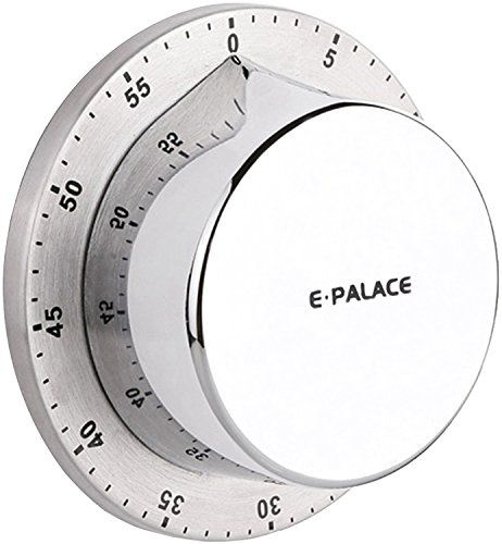 Mechanical Kitchen Timer Loud Alarm Sound With Magnet 60 Minutes