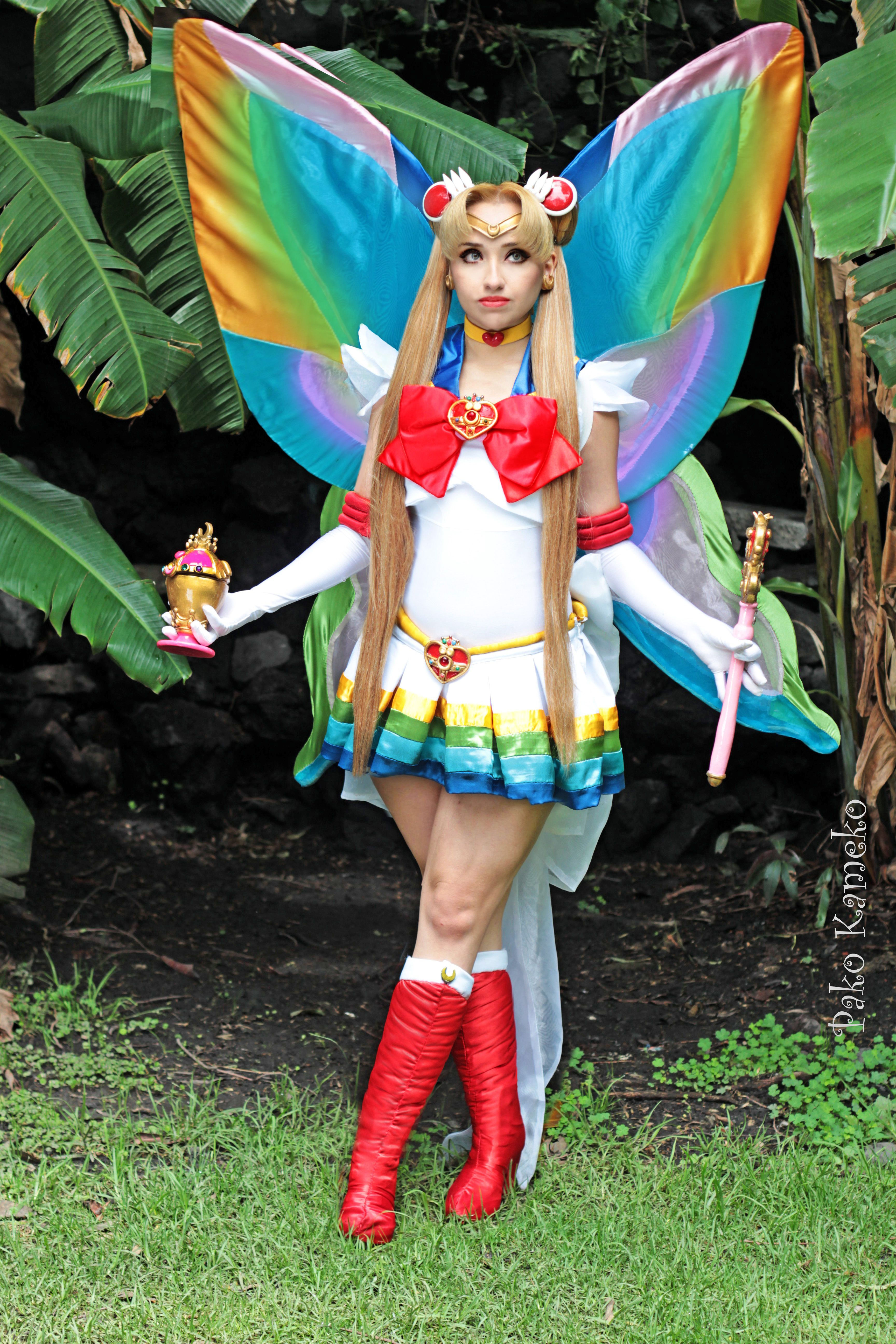 sailor moon cosplay super diana lunares visitar sailors